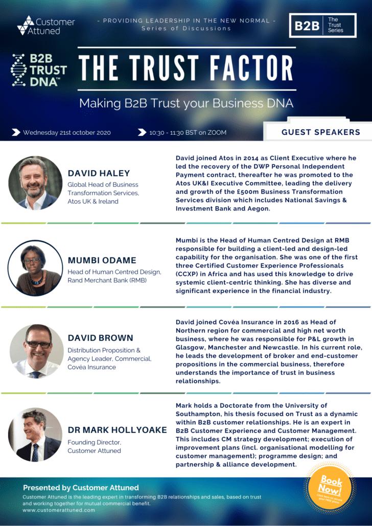 The Trust Factor - Speaker Spotlight