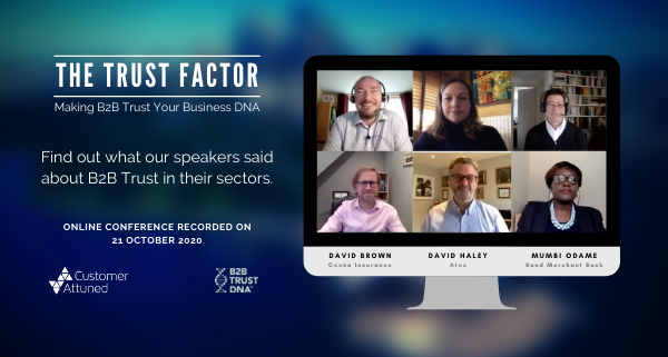 The Trust Factor - Making B2B Trust your business DNA - Panel Summary