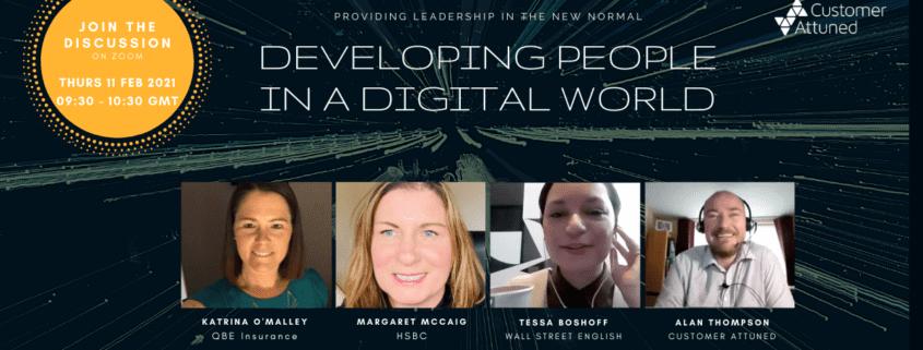 Developing People in Digital World