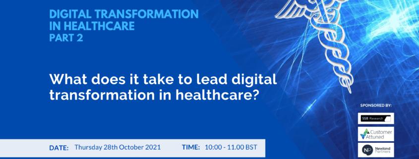 Digital Transformation in Healthcare event 2